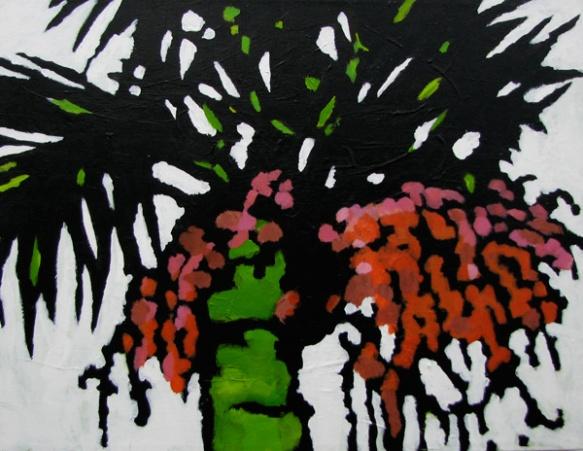 """Palms #3""  75cm x 90cm  $400"