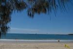 Scene at Mooloolaba Beach