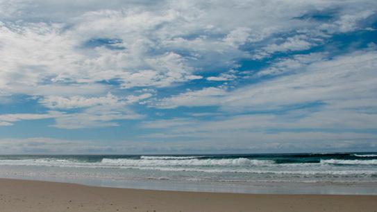 photo of sea and sky
