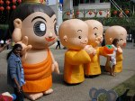Monks and buddhas