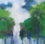 Gorge,waterfall,rain