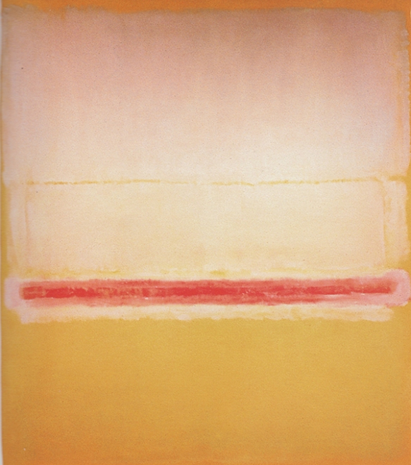 A painting by Mark Rothko, titled Number 20