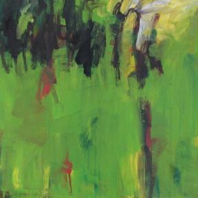 Paddock near forest 40cm x 40cm $310