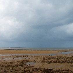 Rain shower to the north