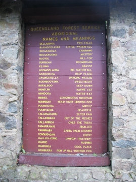 Aboriginal names