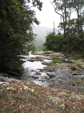 Creek at the top