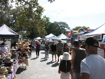 Manly village market