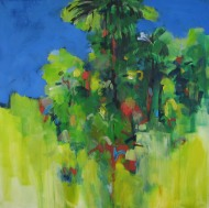 Big scrub: nearly gone 76x76cm $950