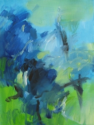 Forest: arrival 31x41cm $510