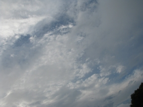 Big sky after storm
