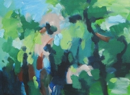 Forest wandering 1 $290 40x30cm