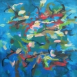 Reflections: Billabong 76x76cm $960