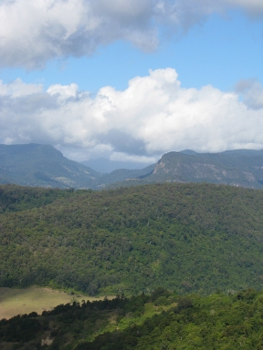 View south from Rosins' Lookout