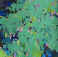 Forest conversation 79x79cm $980