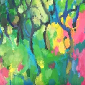 """""""Wildflower hillside"""" $400 40x30cm"""