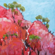 Outback near Winton 50x50cm $540